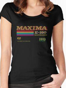 Maxima retro videotape! Women's Fitted Scoop T-Shirt
