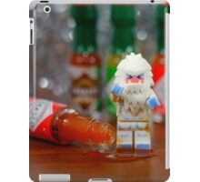 Yeti can't take the heat! iPad Case/Skin