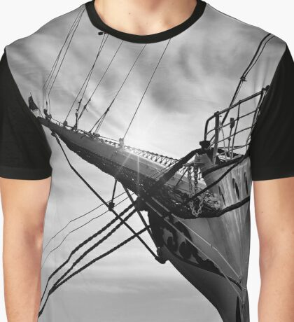 Ship, Gorch Fock front Graphic T-Shirt