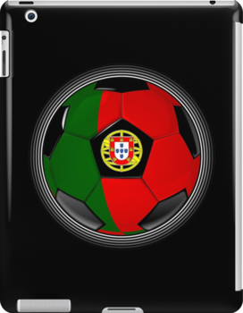 Portugal - Portuguese Flag - Football or Soccer by graphix