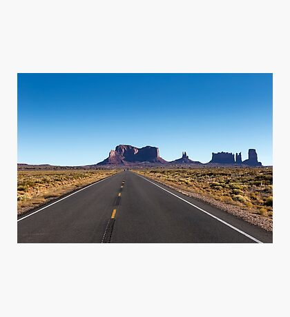 Monument Valley National Park in Arizona, USA Photographic Print