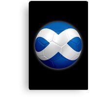 Scotland - Scottish Flag - Football or Soccer 2 Canvas Print