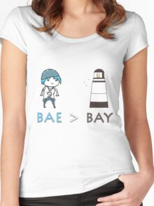 Life is Strange - Bae over Bay [PriceField] Women's Fitted Scoop T-Shirt