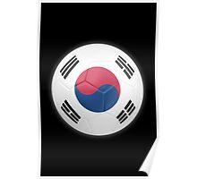 South Korea - South Korean Flag - Football or Soccer 2 Poster