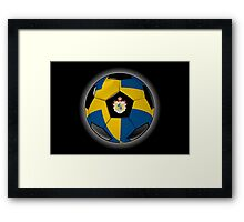 Sweden - Swedish Flag - Football or Soccer Framed Print