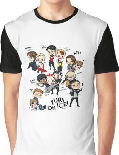Yuri On Ice - Full Chibi Team! Graphic T-Shirt