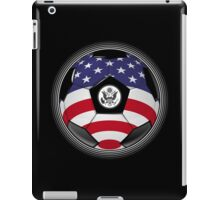 USA - American Flag - Football or Soccer iPad Case/Skin