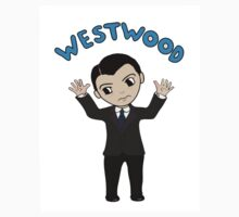 "Jim Moriarty ""Westwood"" T-Shirt by svspngirl"