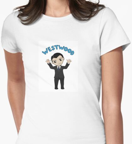 "Jim Moriarty ""Westwood"" T-Shirt Womens Fitted T-Shirt"