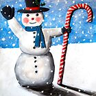 Frosty The Snowman by Amber Elen-Forbat