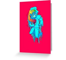 FUNKY FRESH Greeting Card