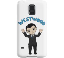 "Jim Moriarty ""Westwood"" T-Shirt Samsung Galaxy Case/Skin"