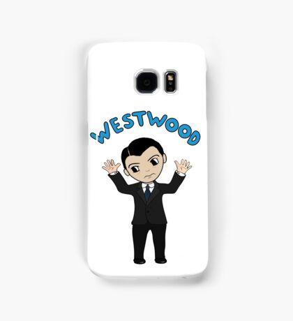 "Jim Moriarty ""Westwood"" T-Shirt Samsung Galaxy Case/Skin"