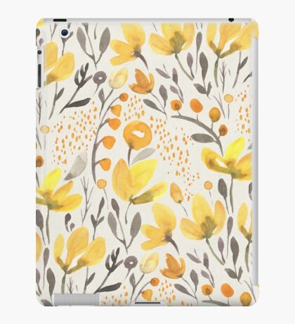 Yellow field iPad Case/Skin