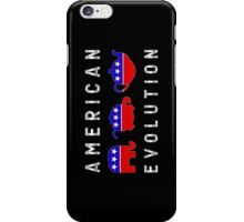 American Evolution - Republican to Tea Party iPhone Case/Skin