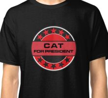 CAT FOR PRESIDENT [RED DWARF] Classic T-Shirt