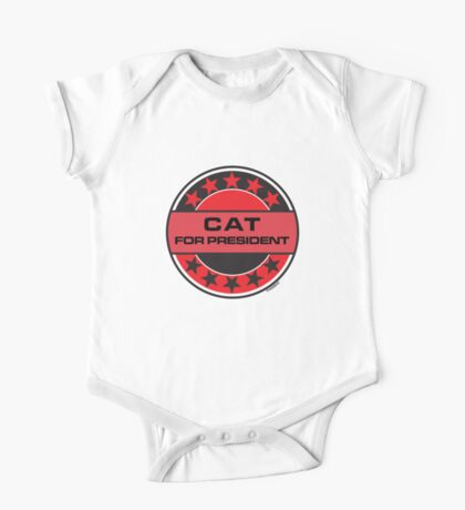 CAT FOR PRESIDENT [RED DWARF] One Piece - Short Sleeve