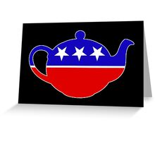 Tea Party - Republican Teapot Greeting Card