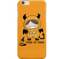 Halloween Trick Or Treat iPhone Case/Skin