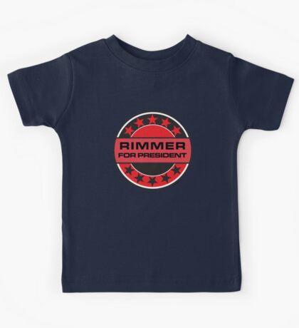 RIMMER FOR PRESIDENT [RED DWARF] Kids Tee