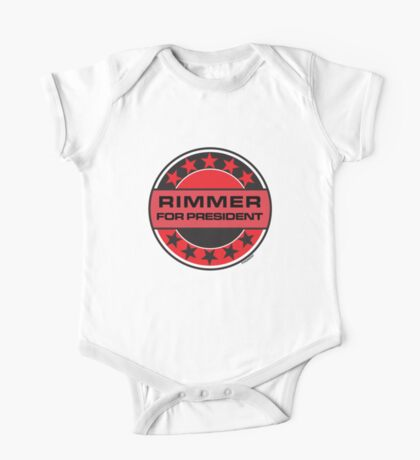 RIMMER FOR PRESIDENT [RED DWARF] One Piece - Short Sleeve