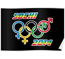 Sochi Equality Poster