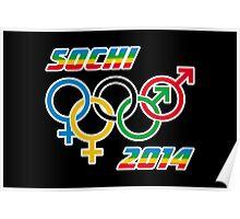 Sochi Equality Poster
