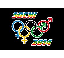 Sochi Equality Photographic Print