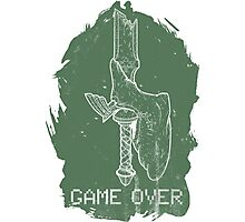 Game Over Link Photographic Print