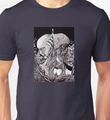 Progress ink pen surreal drawing  Unisex T-Shirt