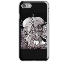 Progress ink pen surreal drawing  iPhone Case/Skin