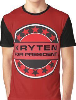 KRYTEN FOR PRESIDENT [RED DWARF] Graphic T-Shirt