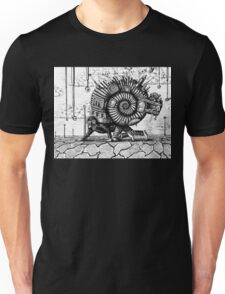 Life in the Shell surreal ink pen drawing Unisex T-Shirt