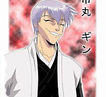 Bleach - Gin Ichimaru by cybermario