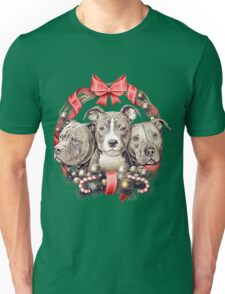 It's a Pit Bull Christmas Unisex T-Shirt