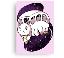 Puppycat Bus Canvas Print