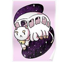 Puppycat Bus Poster