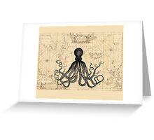 The Kraken Is All Greeting Card
