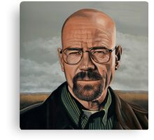 Walter White in Breaking Bad Canvas Print