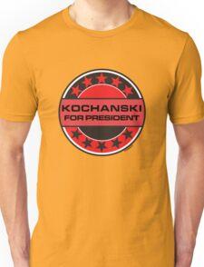 KOCHANSKI FOR PRESIDENT [RED DWARF] Unisex T-Shirt