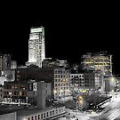 Omaha Night Lights by Tim Wright