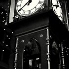 gastown clock by Savannah Regier