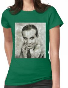Al Jolson, Entertainer Womens Fitted T-Shirt