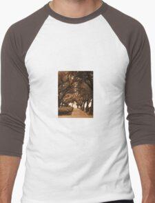 Covered Sidewalk Men's Baseball ¾ T-Shirt