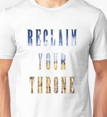 Reclaim Your Throne - Day/white Unisex T-Shirt