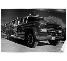 1962 GMC Firetruck Poster