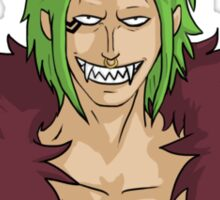 Bartolomeo the Cannibal Sticker