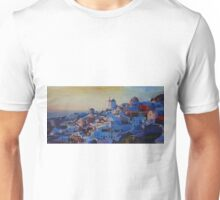 Morning Glory Oia In Santorini Greece Unisex T-Shirt