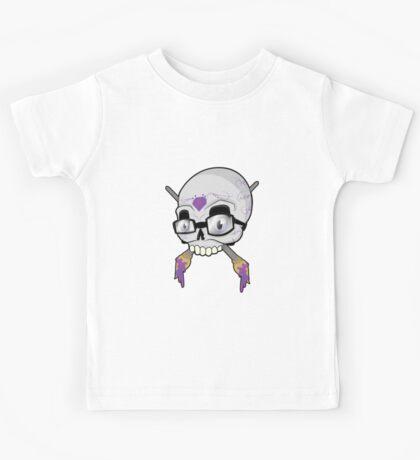 art skull Kids Tee