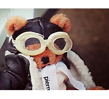 Teddy Pierre The Aviator Photographic Print